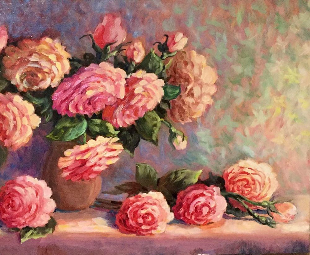 картина цветы, купить картину в москве