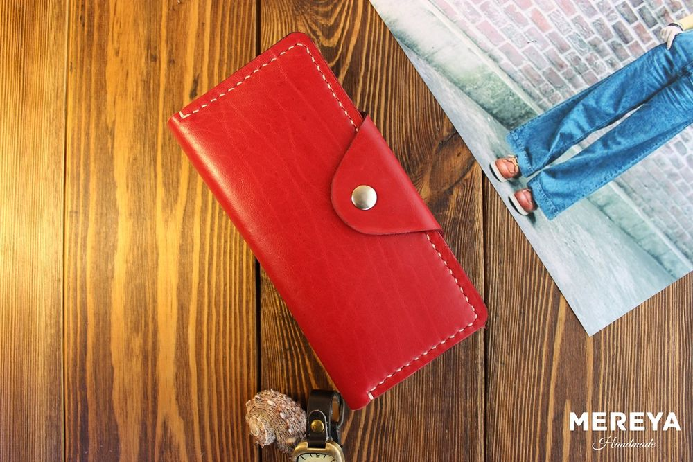 handmade, кожаный кошелек