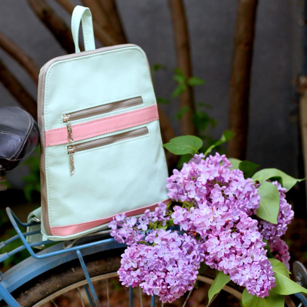 рюкзак на лето, кожаный рюкзак