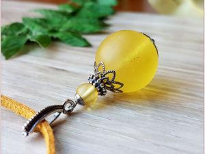 Сияй, мое солнышко, сияй! Прозрачный янтарь. Ярмарка Мастеров - ручная работа, handmade.