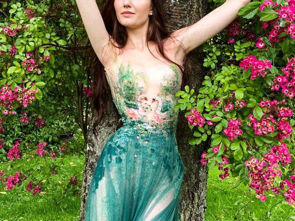 Amazing Literary Dresses by French Designer Sylvie Facon | Livemaster - handmade