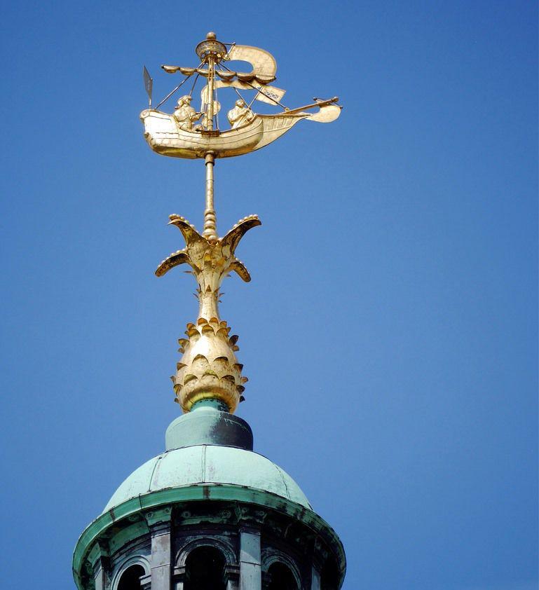 флюгер, флюгер на крышу, амстердам, нидерланды, голландия, голландские мотивы