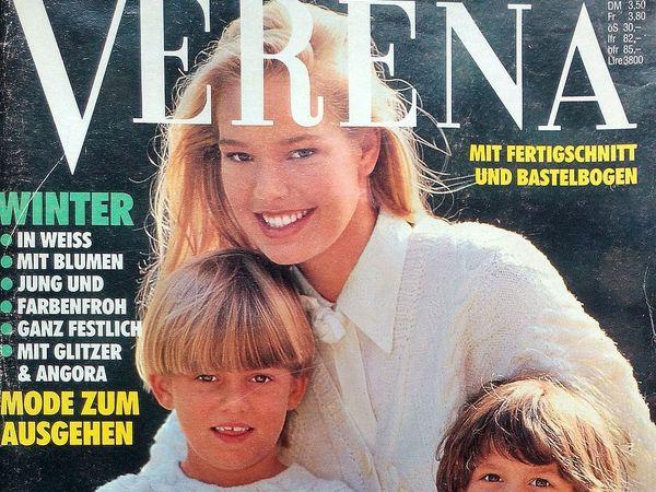 Verena № 12/1990. Содержание | Ярмарка Мастеров - ручная работа, handmade