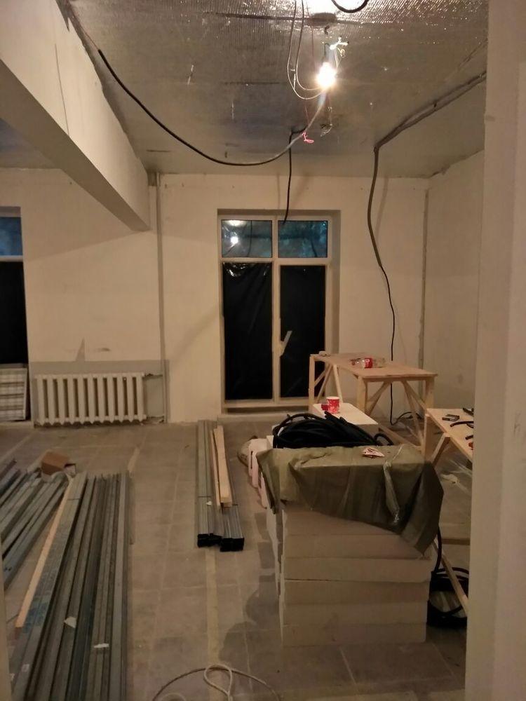 барбершоп в стиле лофт, desing loft