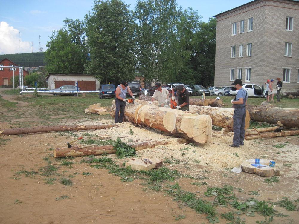Об участии в международном фестивале деревянной скульптуры., фото № 4