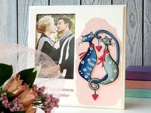 Подарок ко Дню Всех Влюблнных   Ярмарка Мастеров - ручная работа, handmade