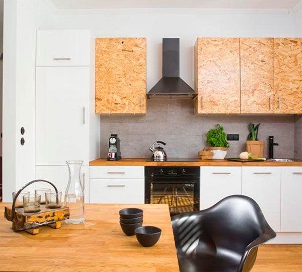 лофт дизайн, мебель для кухни