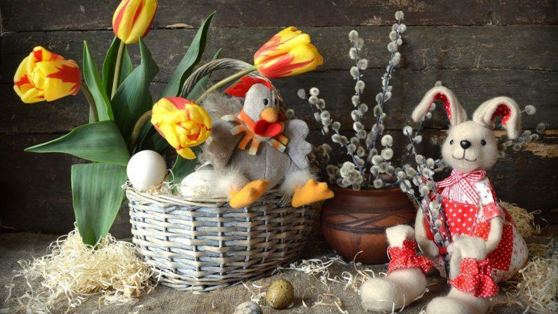 подарок на ппасху, зайка-кролик на пасху, вязать пасхального зайца