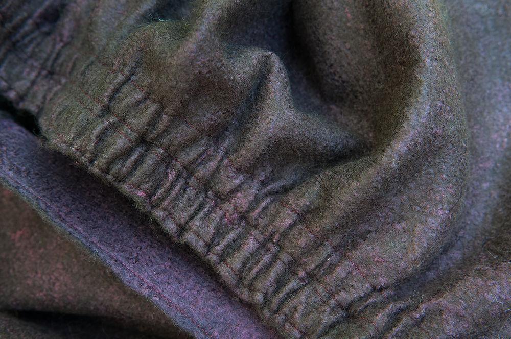 мк по валянию, юбка из войлока, сложный шаблон, силуэт буль