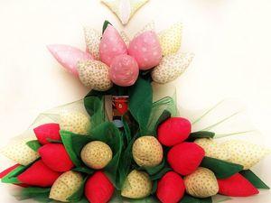 Тюльпаны к 8 марта. Ярмарка Мастеров - ручная работа, handmade.