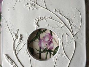 Фоторамка с цветами — НОВИНКА магазина. Ярмарка Мастеров - ручная работа, handmade.