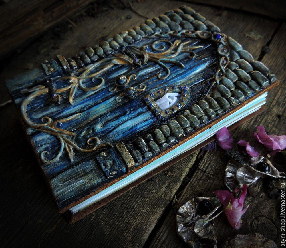 декор записной книги