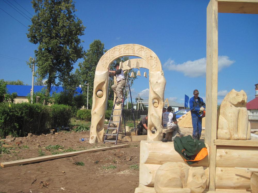 Об участии в международном фестивале деревянной скульптуры., фото № 27