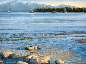 Фантастическая глубина цвета в картинах канадской художницы Carol Evans. Ярмарка Мастеров - ручная работа, handmade.