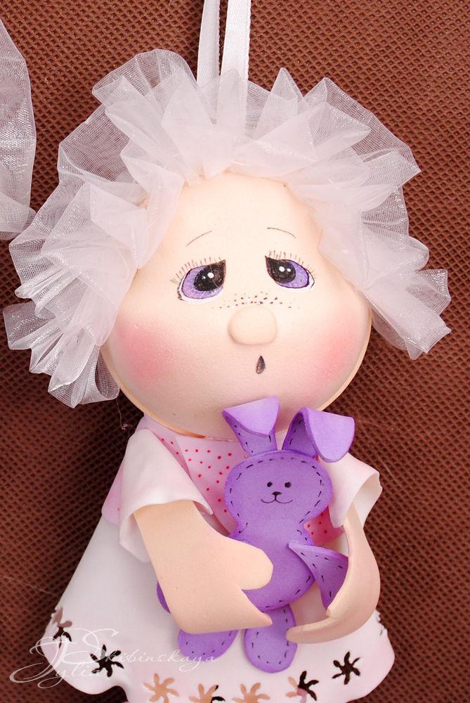 фоамиран, фом своими руками, мк кукла
