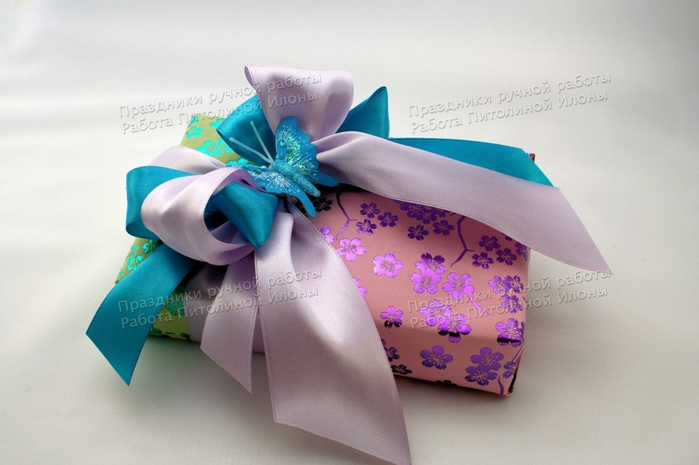 упаковка подарков, мастер-классы, яркое лето, подарок женщине