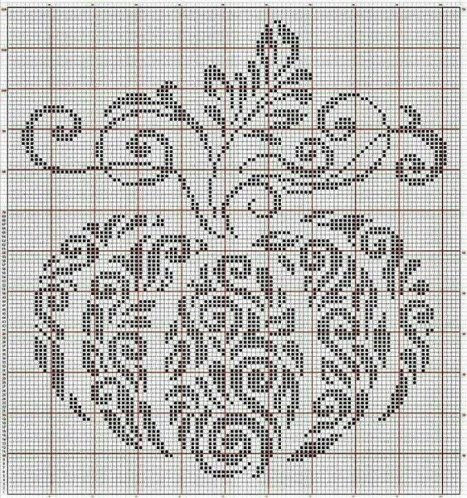 Тема вышивки в вышивке крестом 112