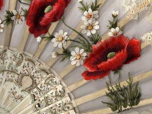 Испанская вышивальщица Pilar Marzal и ее изумительные цветочные вышивки. Ярмарка Мастеров - ручная работа, handmade.