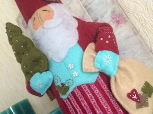 Мастер-класс: Дед Мороз с сюрпризом. Ярмарка Мастеров - ручная работа, handmade.