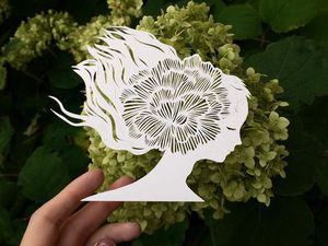 Inspired by Nature, or Paper Patterns by Eugenia Gold. Livemaster - handmade