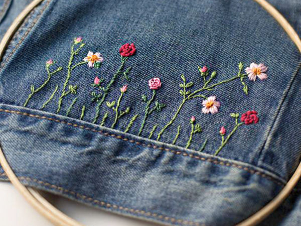 50 Diverse Ideas of Denim Jackets Decor | Livemaster - handmade