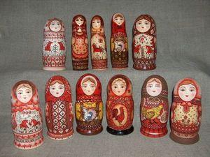 Моя личная коллекция матрешек. Ярмарка Мастеров - ручная работа, handmade.
