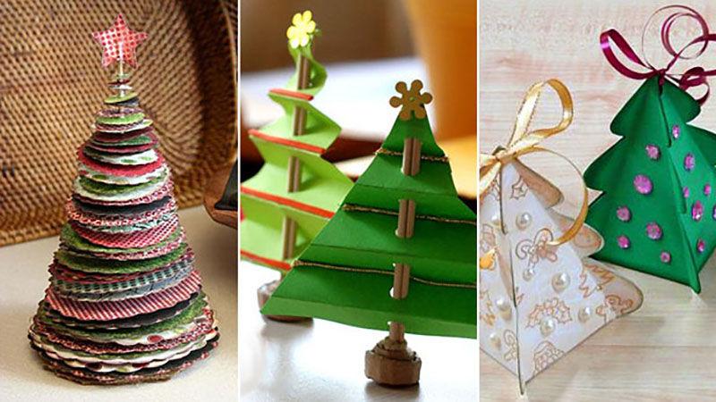 Интересные идеи для украшения елки