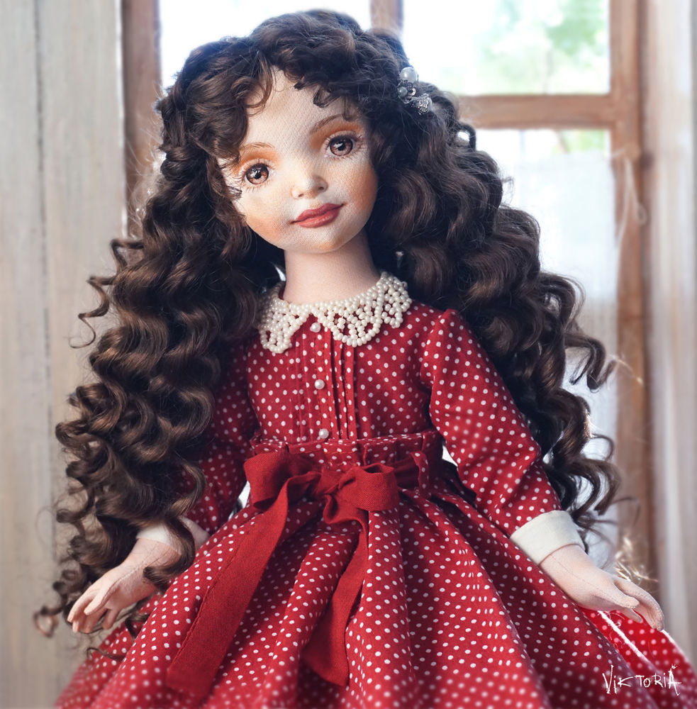авторская кукла, doll