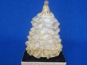 Создаем гламурную ёлочку в золотом. Ярмарка Мастеров - ручная работа, handmade.