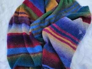 Какой шарф получится из набора?. Ярмарка Мастеров - ручная работа, handmade.