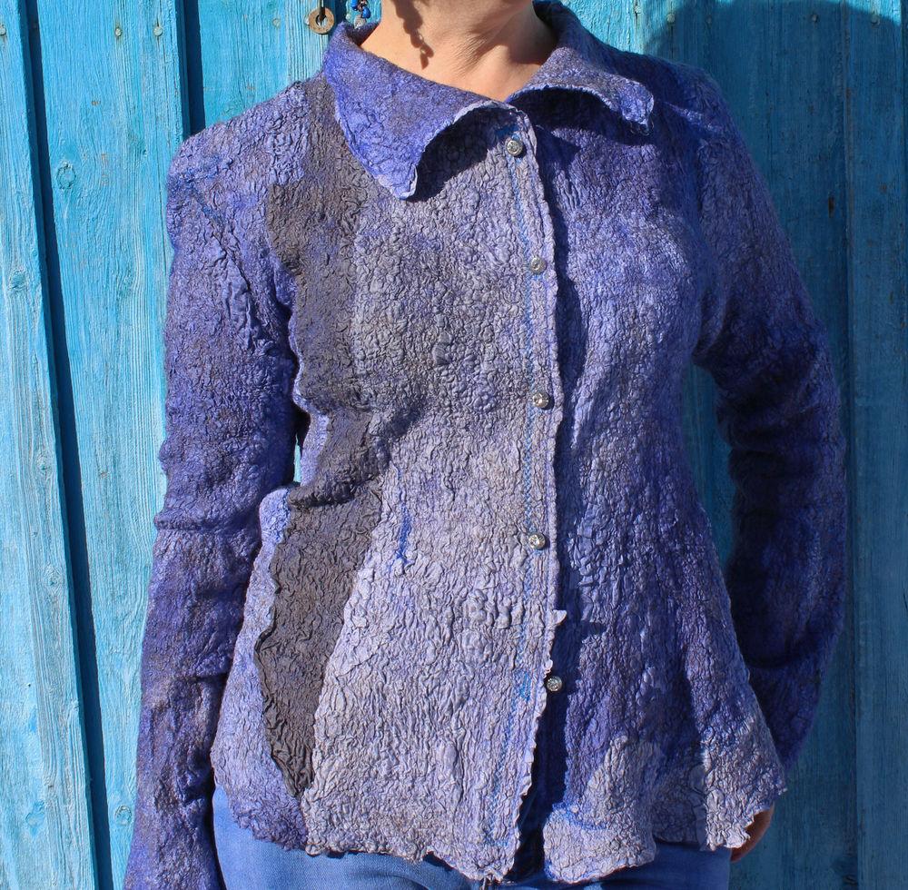 валяная блузка