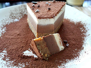 Торт тирамису без сахара, яиц, муки и духового шкафа. Ярмарка Мастеров - ручная работа, handmade.