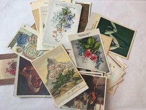 Спонтанная распродажа. Часть IV. Винтажные и антикварные открытки!. Ярмарка Мастеров - ручная работа, handmade.
