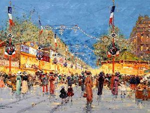 Париж Galien-Laloue: подборка из 65 полотен. Ярмарка Мастеров - ручная работа, handmade.