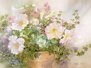Красота и нежность природы в картинах Lena Liu. Ярмарка Мастеров - ручная работа, handmade.