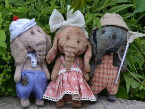 Карманные или сумочные слоники. Ярмарка Мастеров - ручная работа, handmade.