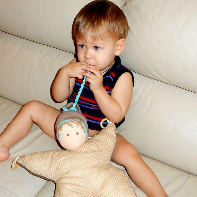 вальдорфская игрушка, кукла ручной работы, натуральные материалы