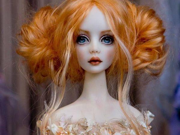 Завораживающие куклы Миланы Шупа-Дубровой | Ярмарка Мастеров - ручная работа, handmade
