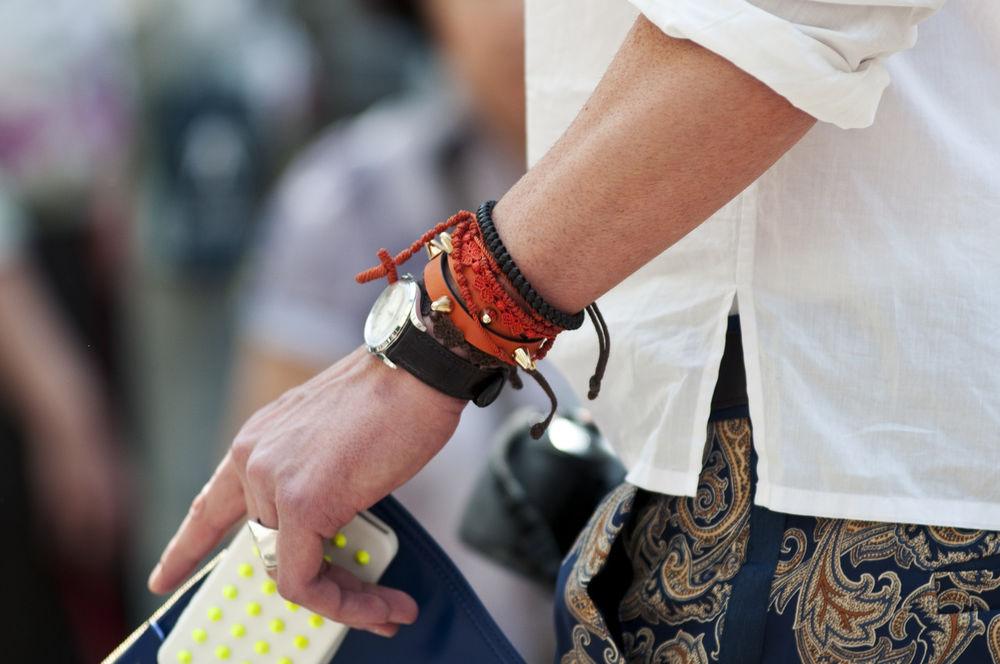 Мужские браслеты на грани стиля унисекс, фото № 29