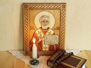 Притча о том, почему у Николая Угодника два праздника в году. Ярмарка Мастеров - ручная работа, handmade.