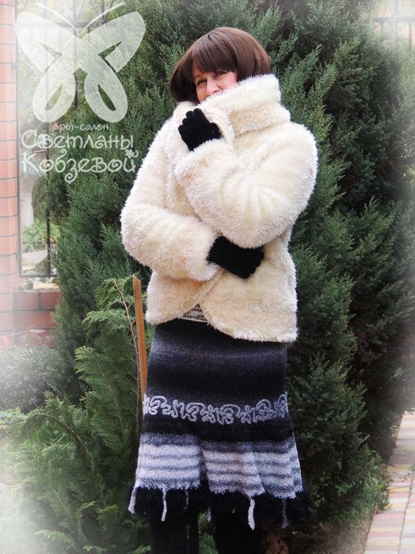 юбка на заказ, зимняя одежда