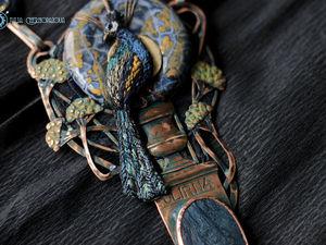 """""""Peacock of Scone Palace"""" Детали и тема для вдохновения. Ярмарка Мастеров - ручная работа, handmade."""