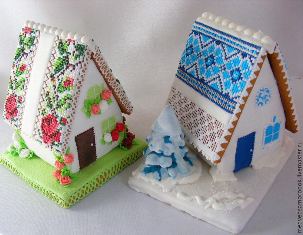 как сделать пряничный дом