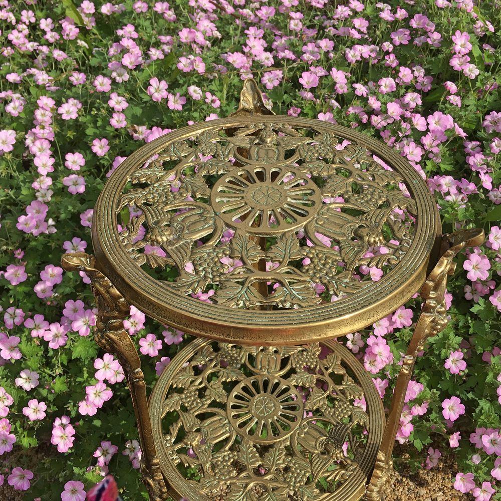 столик бронза