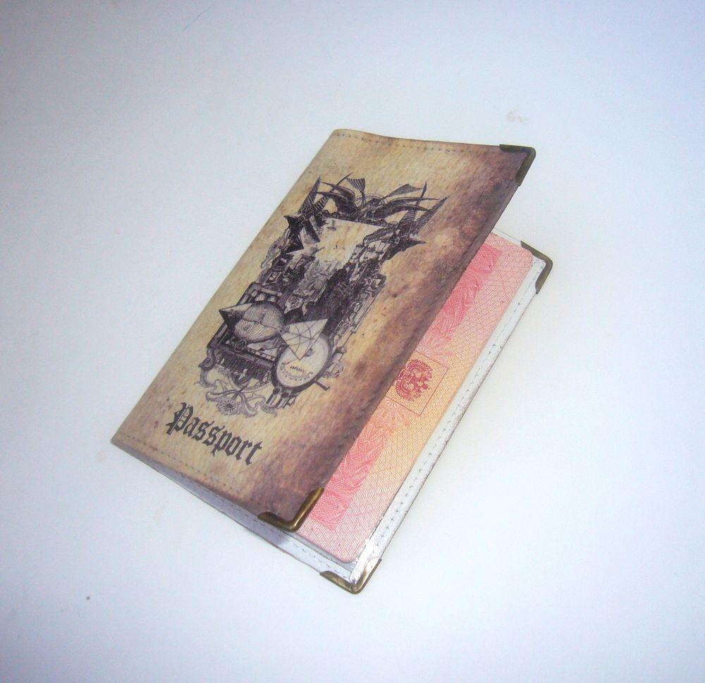 обложка для паспорта, работа на заказ