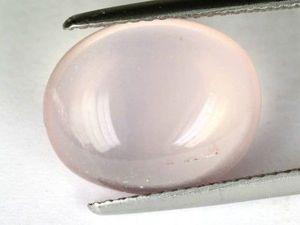 Розовые кварцы с эффектом кошачьего глаза. Ярмарка Мастеров - ручная работа, handmade.