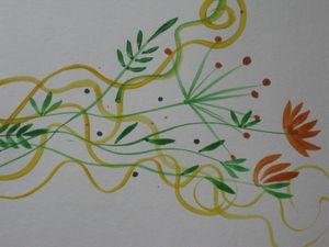 Уроки рисования. Простые элементы плоской кистью. Часть 2. Ярмарка Мастеров - ручная работа, handmade.
