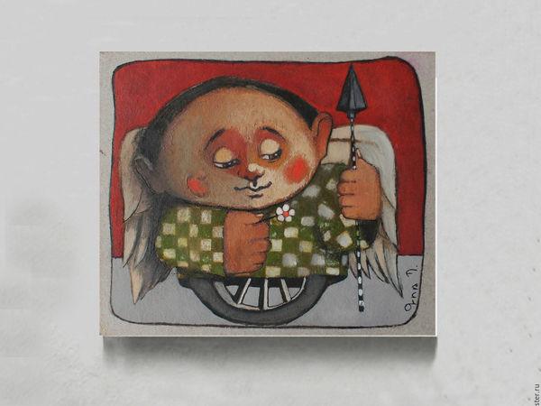 Лотерея в помощь художнику Гору (на его картину) + Копилочка. Нужна срочная операция! | Ярмарка Мастеров - ручная работа, handmade
