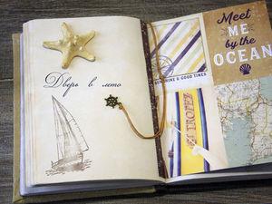 Дарю блокноты ручной работы и открытки к Новому Году.. Ярмарка Мастеров - ручная работа, handmade.