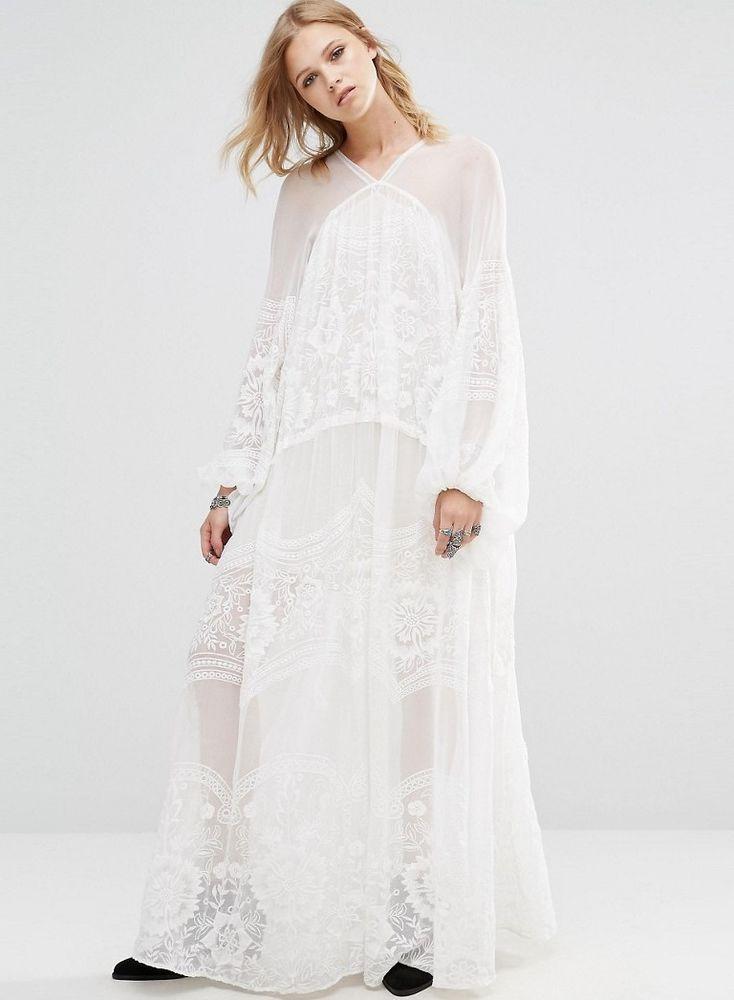 Белое бохо, или Шикарная одежда для королевы летнего пляжа, фото № 130